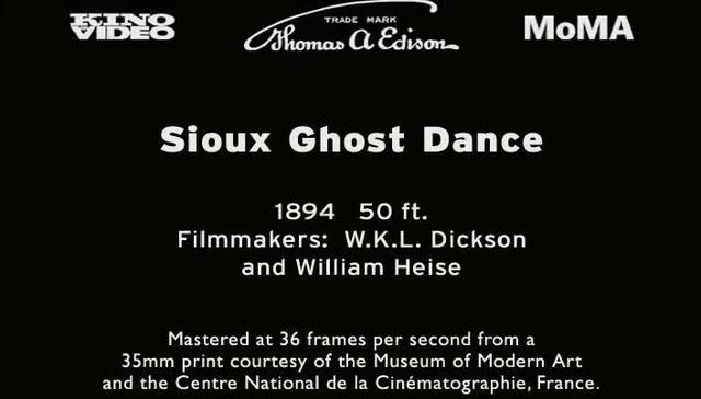 Sioux Ghost Dance (1894)