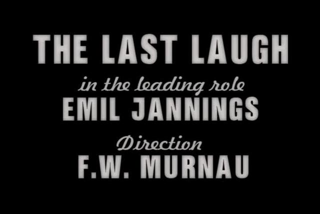 The Last Laugh (1924) - Opening Sequence