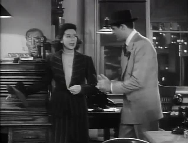 "His Girl Friday (1940) - ""A newspaperman"""