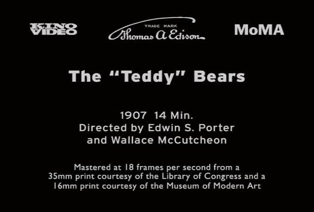 "The ""Teddy"" Bears (1907)"