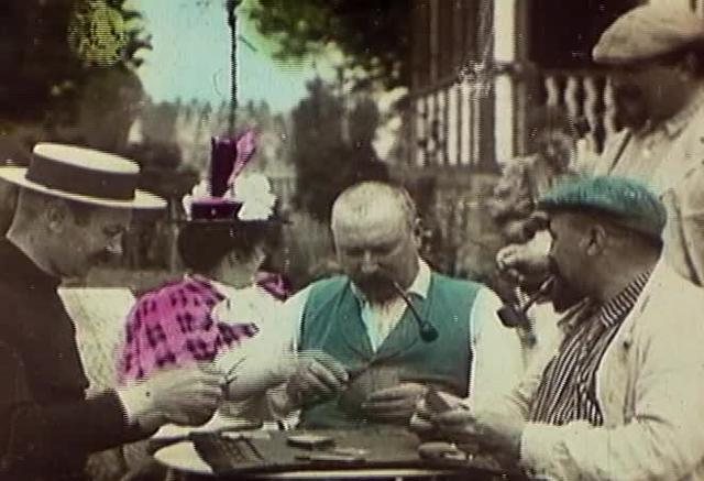 Card Party (color) (1895)