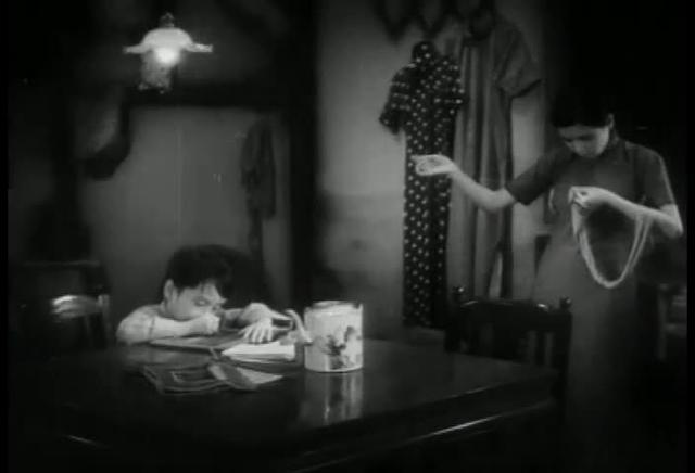 The Goddess (1934) - Meeting between the mother and principal