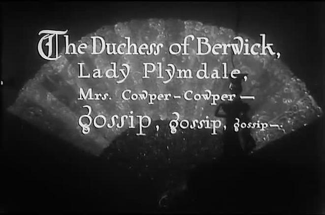 Lady Windermere's Fan (1925) - Judgmental glances at the races
