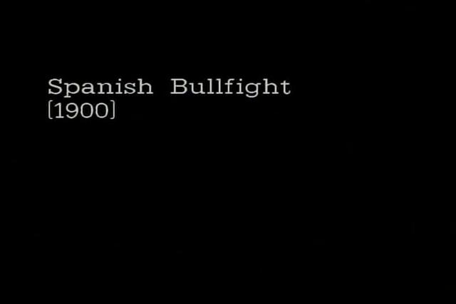 Spanish Bullfight (1900)