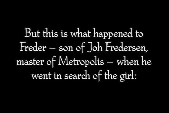 Metropolis (1927) - Explosion/Moloch