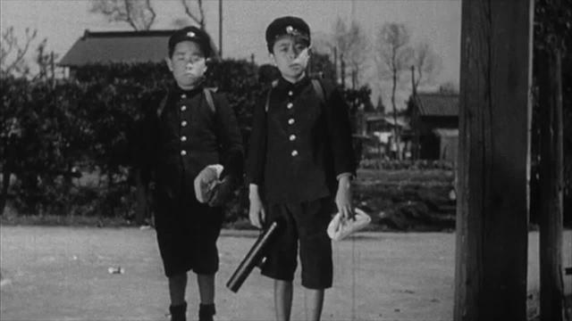 Ozu's I WAS BORN BUT... skipping school