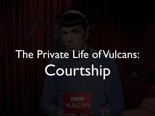 The Private Life of Vulcans by T'Lara & Rhaegal (Kirk/Spock fanvid)