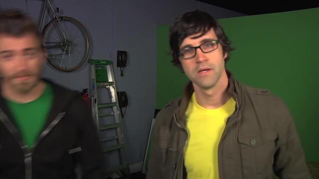 "Rhett & Link - Caption Fail, ""Lady Gaga Putt-Putt Rally"""