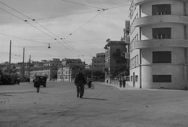 Bicycle Thieves:  Bruno's spatial relation to his father as the film ends