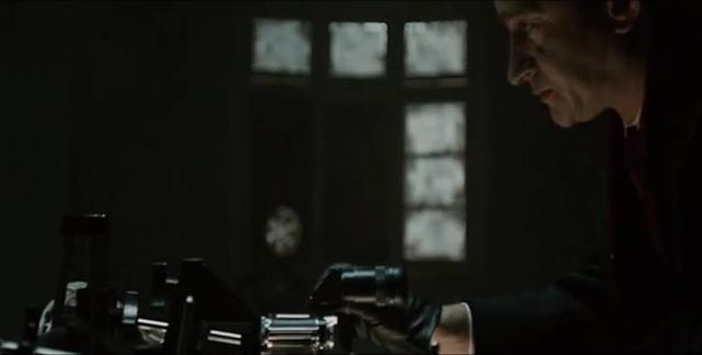 Internal Rhythm:  Tinker Tailor Soldier Spy, Telephoto lens slows motion towards the camera