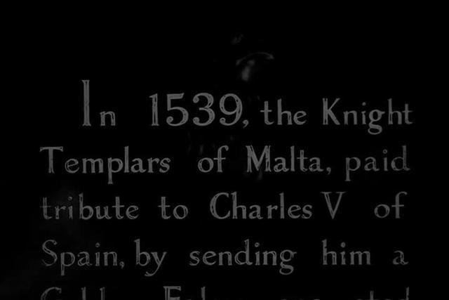 Maltese Falcon: Opening scene
