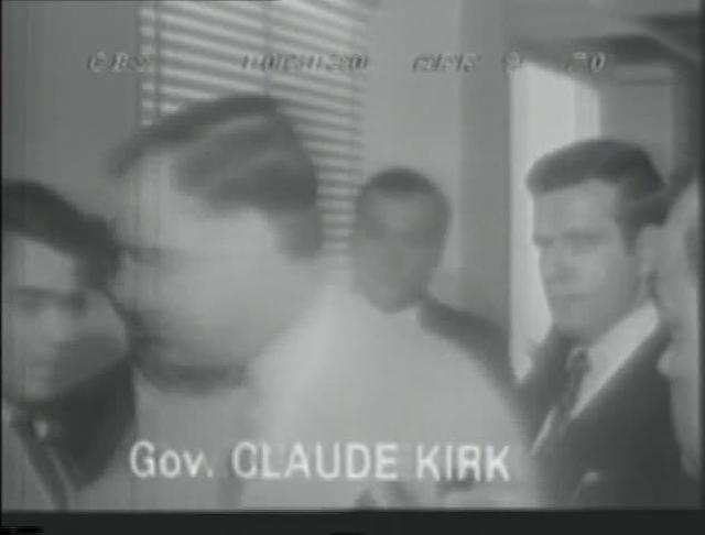 Gov. Kirk in maternity ward - 4-9-70 - CBS