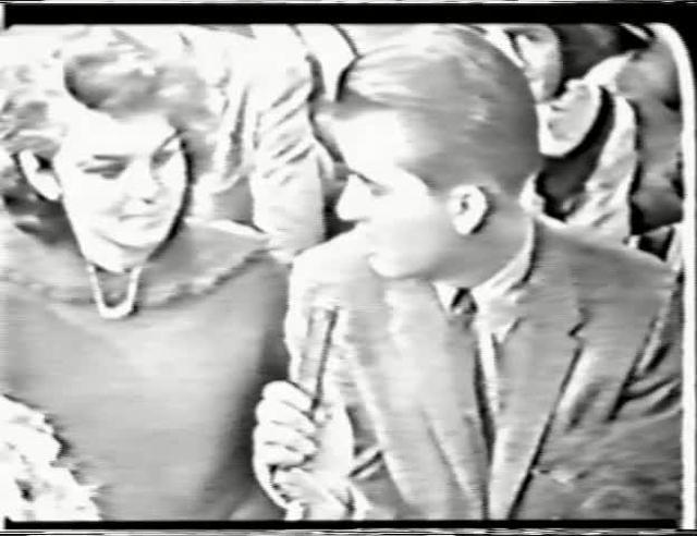 American Bandstand - station callouts for Buffalo and Cleveland