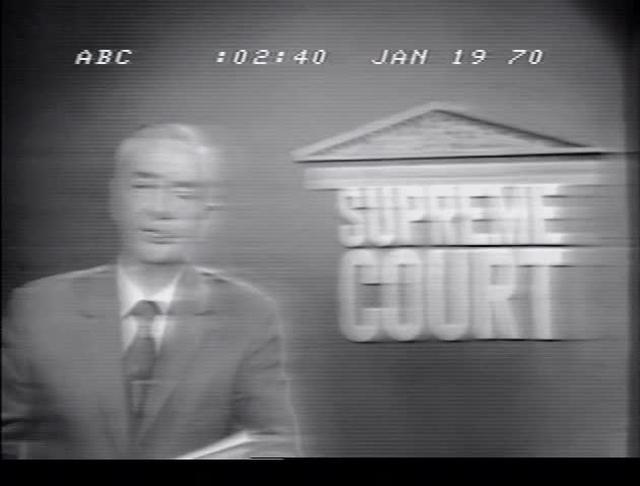 Gov. Kirk at Supreme Court - ABC - 1-19-70