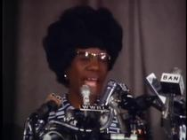 Shirley Chisholm declares Presidential bid - January 25, 1972