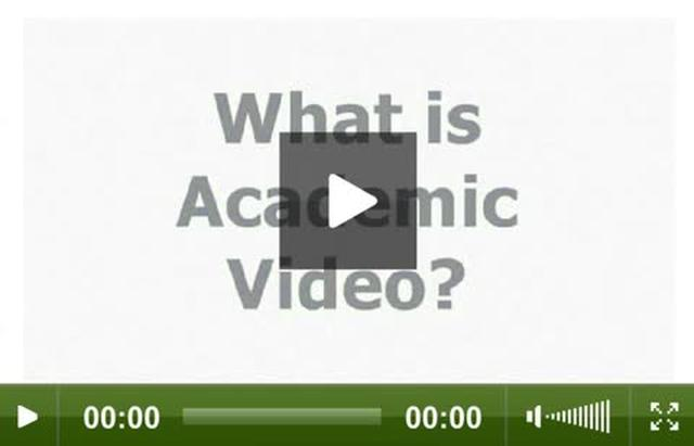 Reflections on Academic Video [by Thommy Eriksson and Inge Ejbye Sørensen]