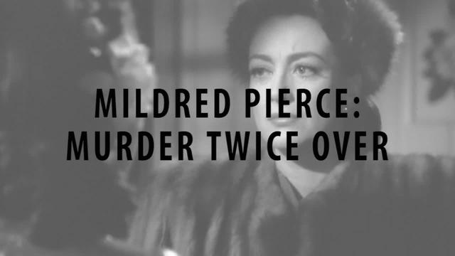 Mildred Pierce: Murder Twice Over [by David Bordwell]
