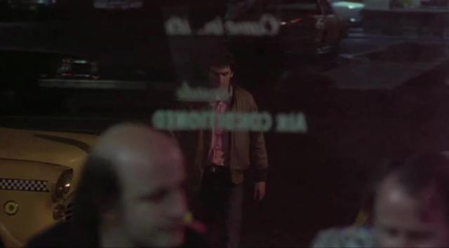 Taxi Driver - Travis Bickle's Alka-Seltzer