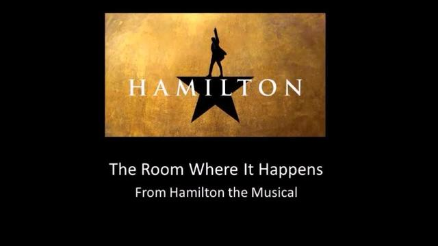 The Room Where It Happens