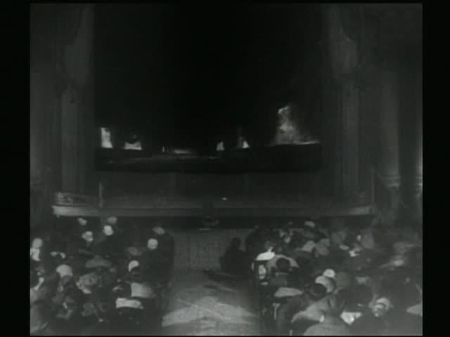 Editing rhythm in The Man with a Movie Camera
