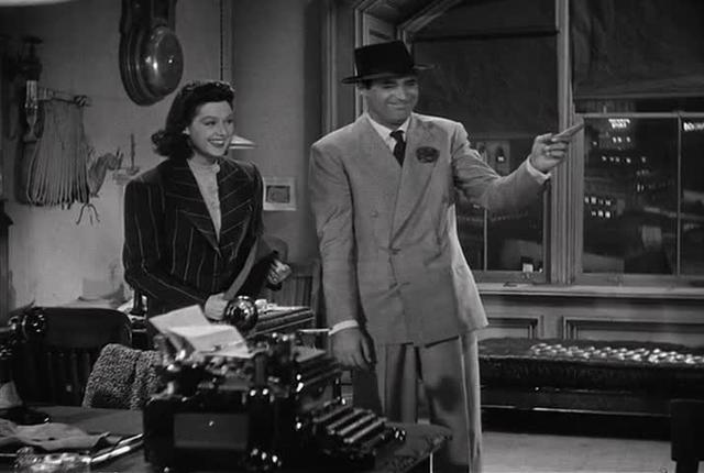 Parallelism in His Girl Friday, part two