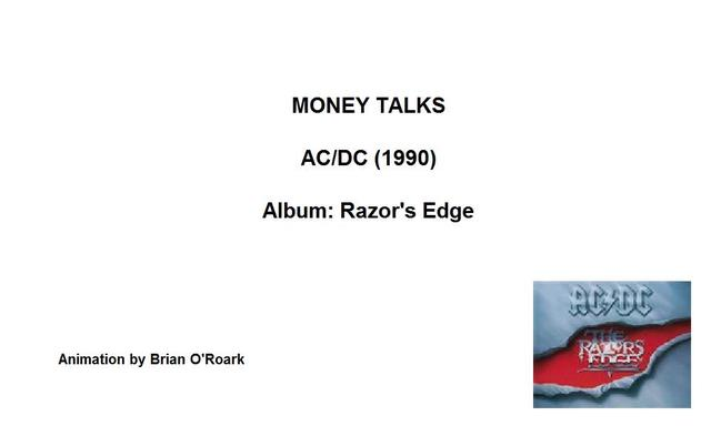 Money Talks - AC/DC