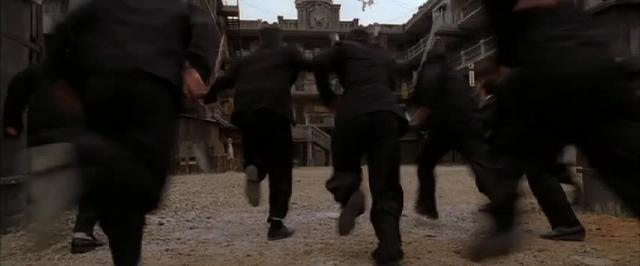 Sound effects in Kung Fu Hustle