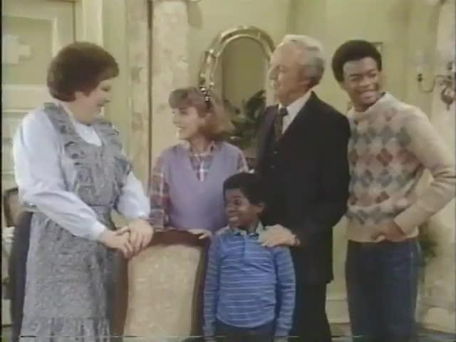 "Diff'rent Strokes, ""The Reporter,"" (Nancy Reagan, Guest) Season 5/Episode 22. (1983)"
