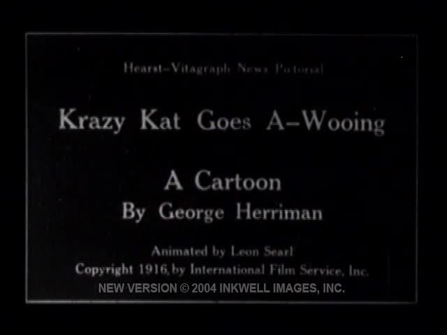 Krazy-Kat Goes A-Wooing