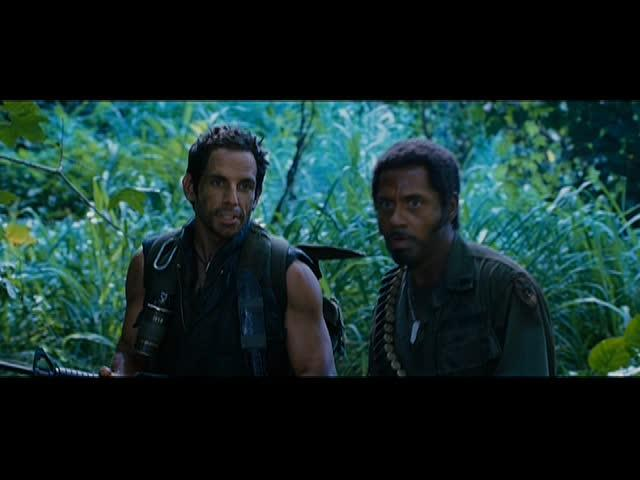 "Tropic Thunder - ""Full Retard"" Scene"
