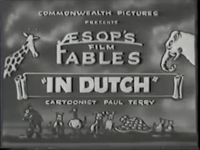 In Dutch (1925) - Aesop's Fables