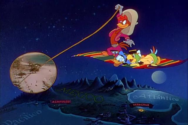 The Three Caballeros Clip 3