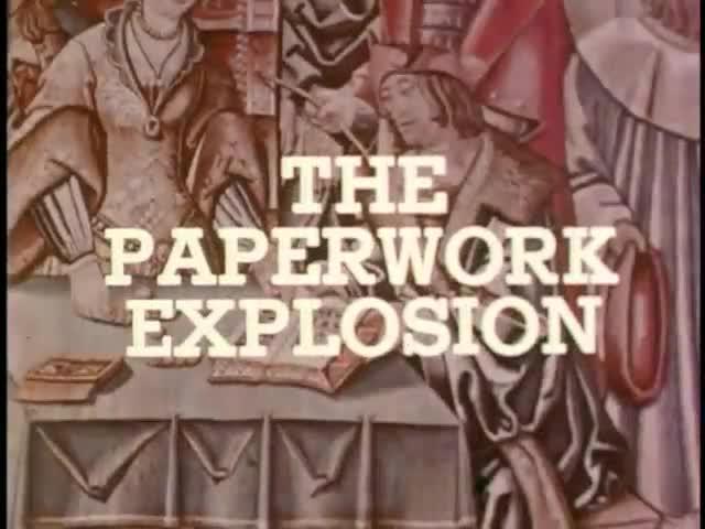 Paperwork Explosion