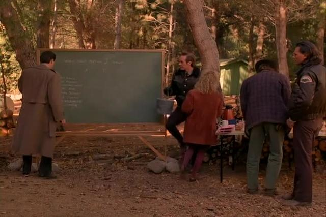 "Twin Peaks, Season one, episode three, ""Zen or the Skill to Catch a Killer"""