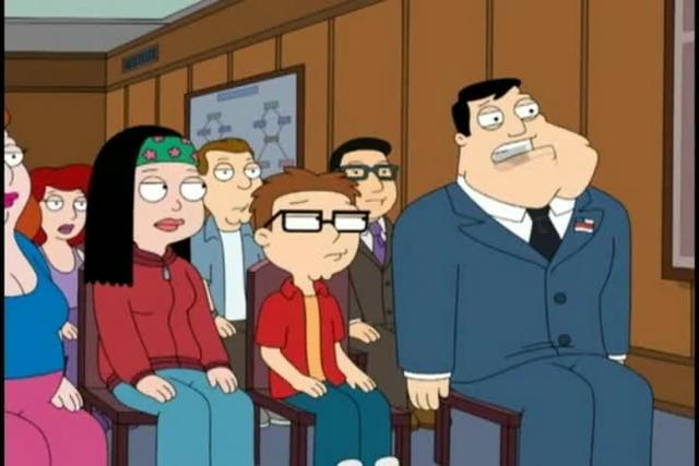 "Ghostbusters Reference in American Dad: ""Roy Rogers McFreely"""