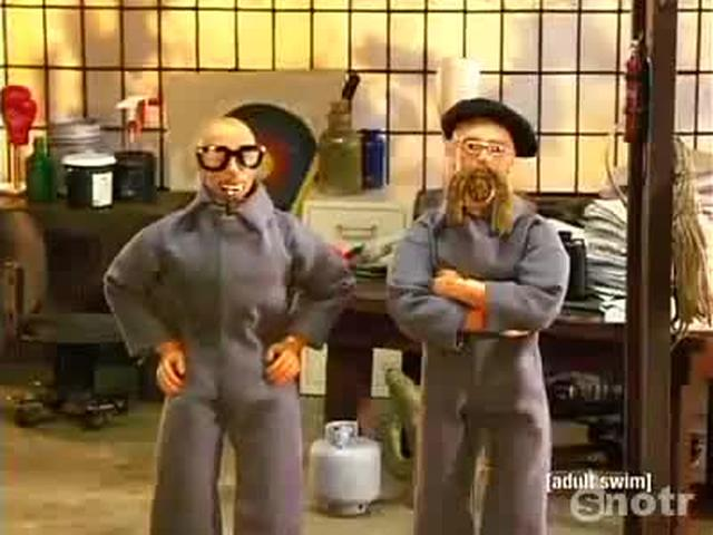 Robot Chicken - Mythbusters/Ghostbusters Spoof