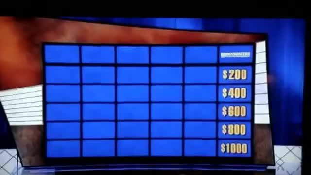 Ghostbusters Category On Jeopardy #5806
