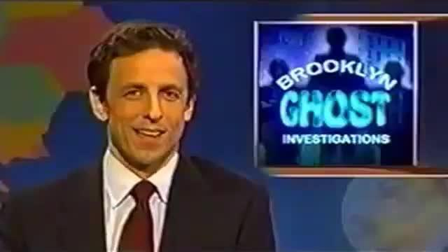 Ghostbusters Reference in Saturday Night Live - Brooklyn Ghost Investigations