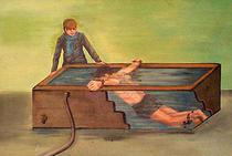 Water torture with electricity