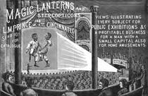 Magic lantern ad 1889