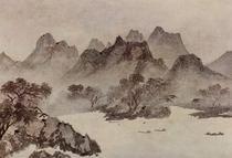 Mu-ch'i landscape painting