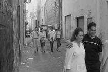 Indigenous Youths in LA Learning about and Walking down the Indian Alley